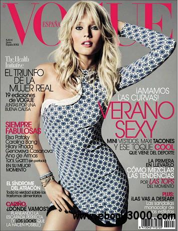 Vogue (Spain) Magazine June 2012 free download