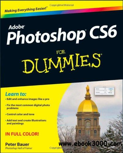 Photoshop CS6 For Dummies free download