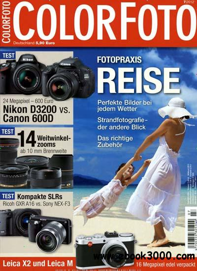 Color Foto Magazin Juli No 07 2012 free download