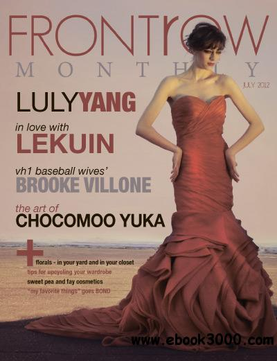 Front Row Monthly - July 2012 free download