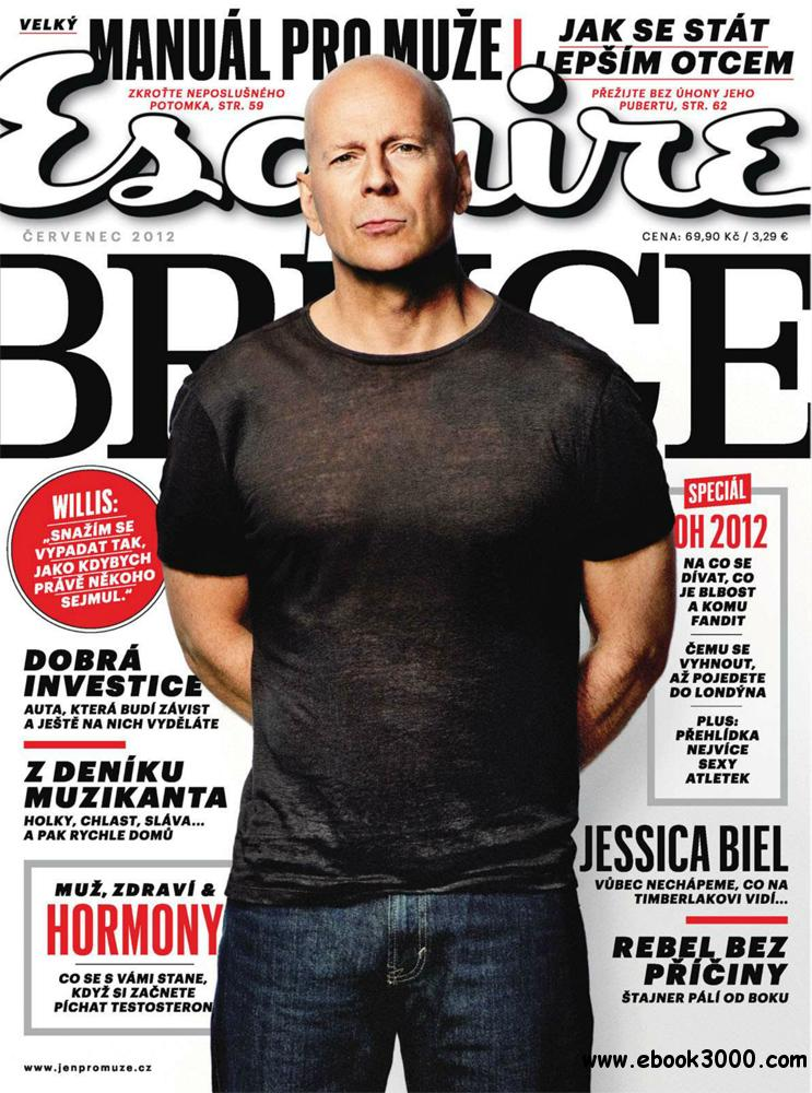 Esquire July 2012 (Czech Republic) free download