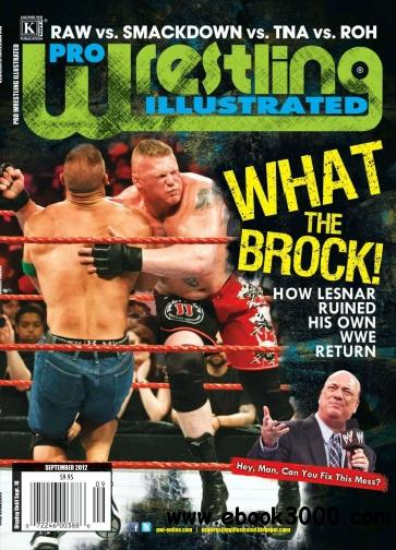 Pro Wrestling Illustrated & The Wrestler/Inside Wrestling - September 2012 free download