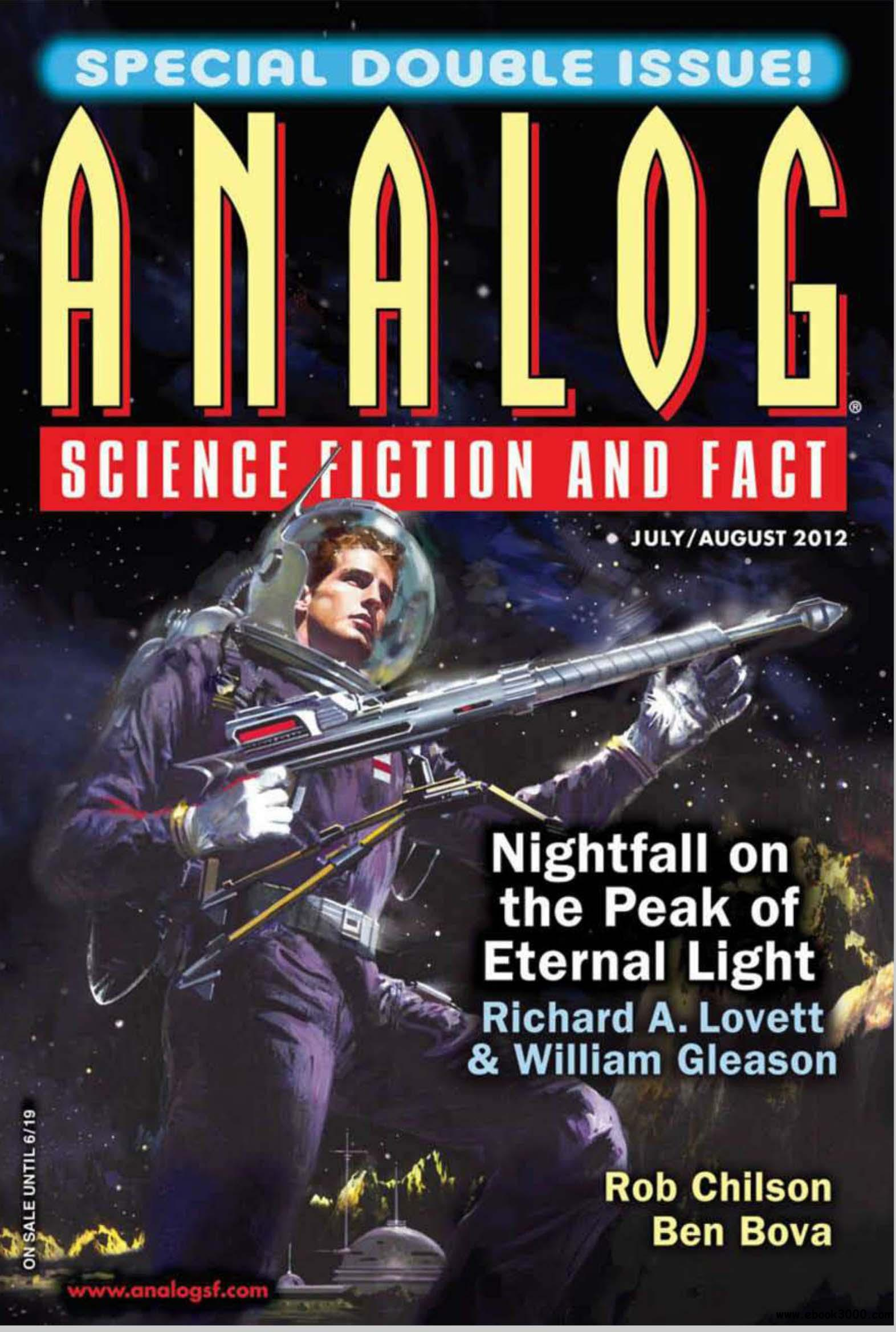 Analog Science Fiction and Fact July/August 2012 free download