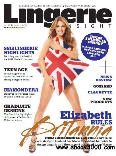 Lingerie Insight Magazine July 2012 free download