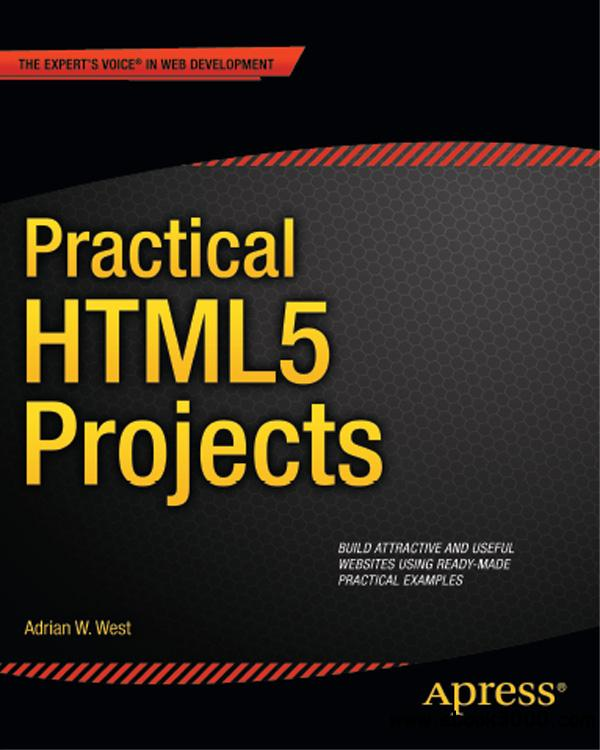 Practical HTML5 Projects free download
