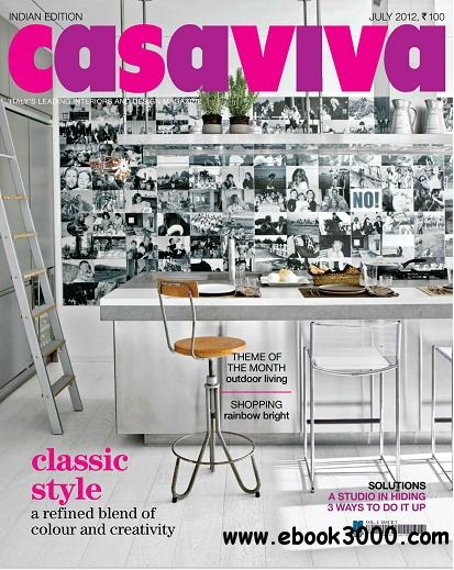 Casaviva India Edition Magazine July 2012 free download