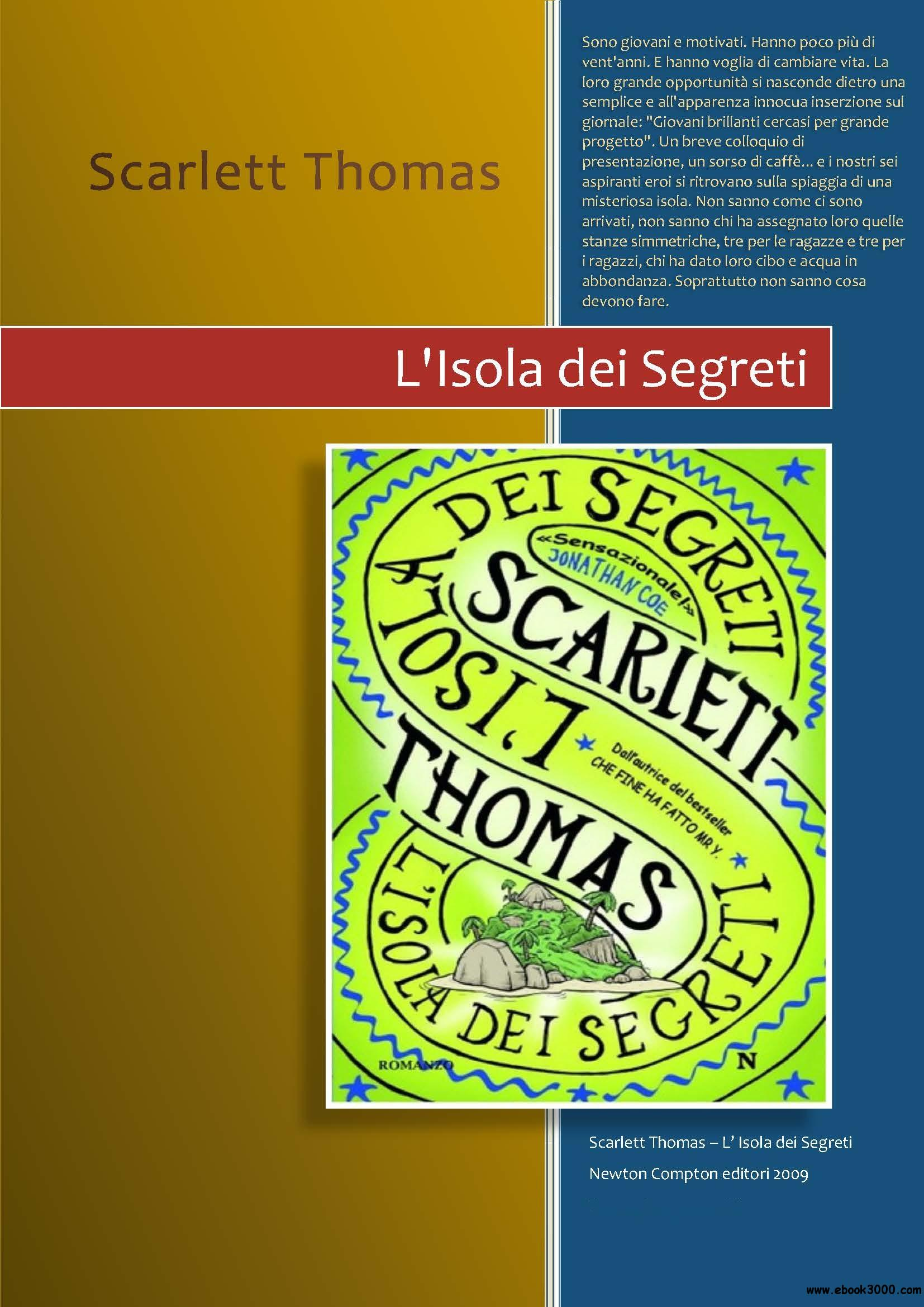 Scarlett Thomas - L'isola dei segreti free download