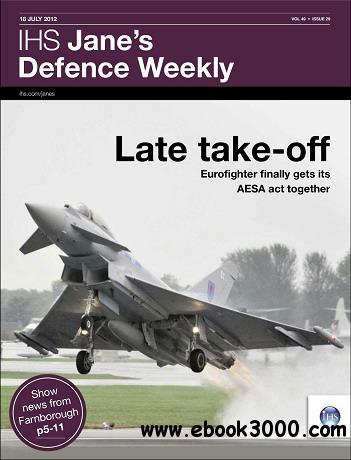 Jane's Defence Weekly Magazine July 18, 2012 free download