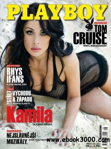 Playboy Czech - August 2012 free download