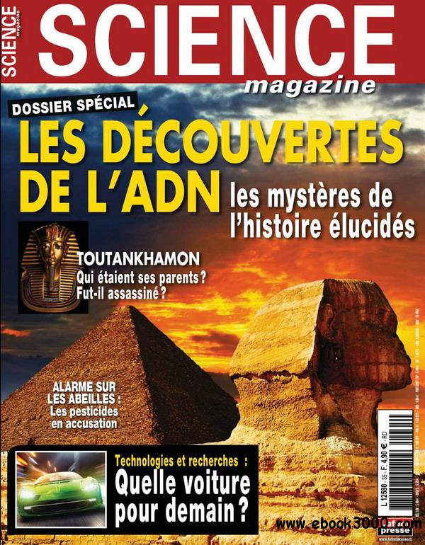 Science magazine No.35 - Aout/Septembre 2012 free download
