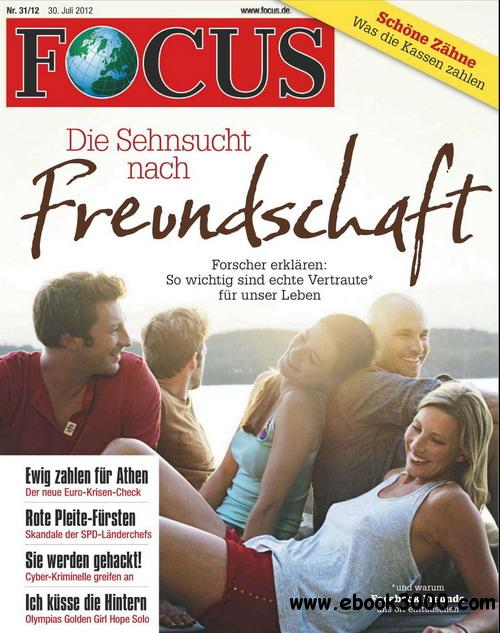 Focus Magazin No.31 - Juli 30, 2012 / Germany free download