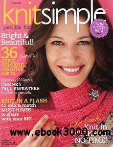 Knit Simple C Fall 2012 free download