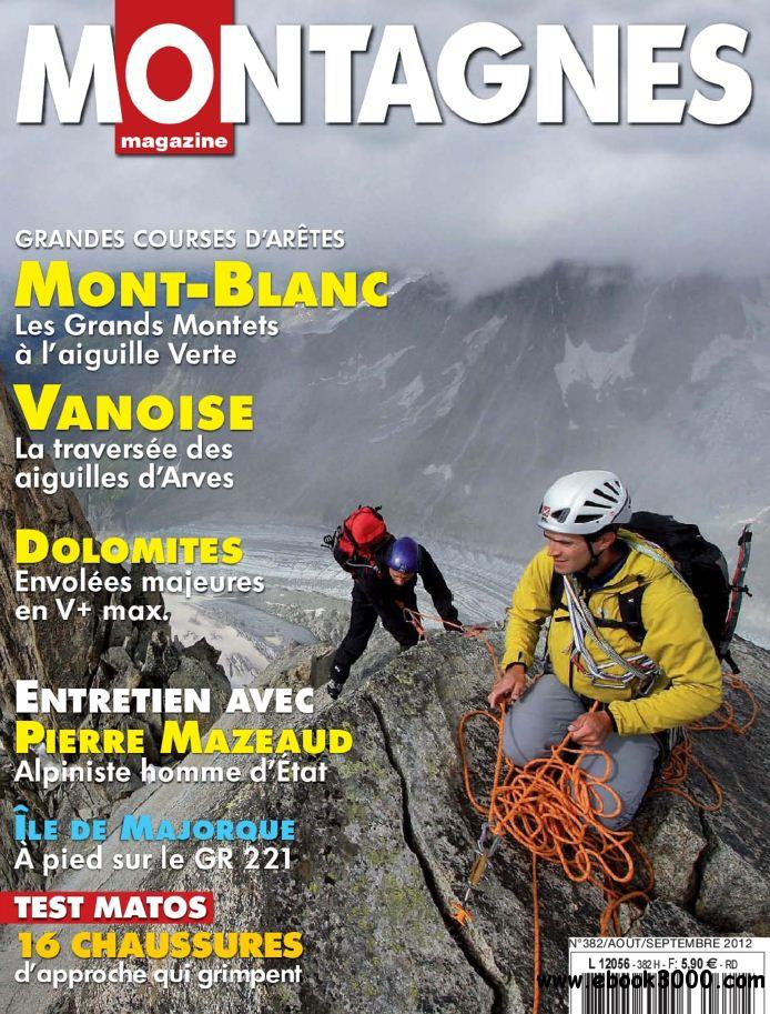 Montagnes Magazine 382 - Aout-Septembre 2012 free download