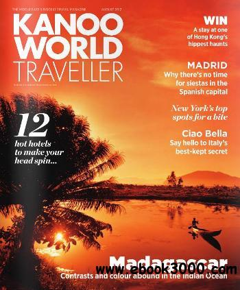 Kanoo World Traveller - August 2012 free download