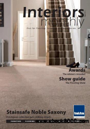 Interiors Monthly - August 2012 free download