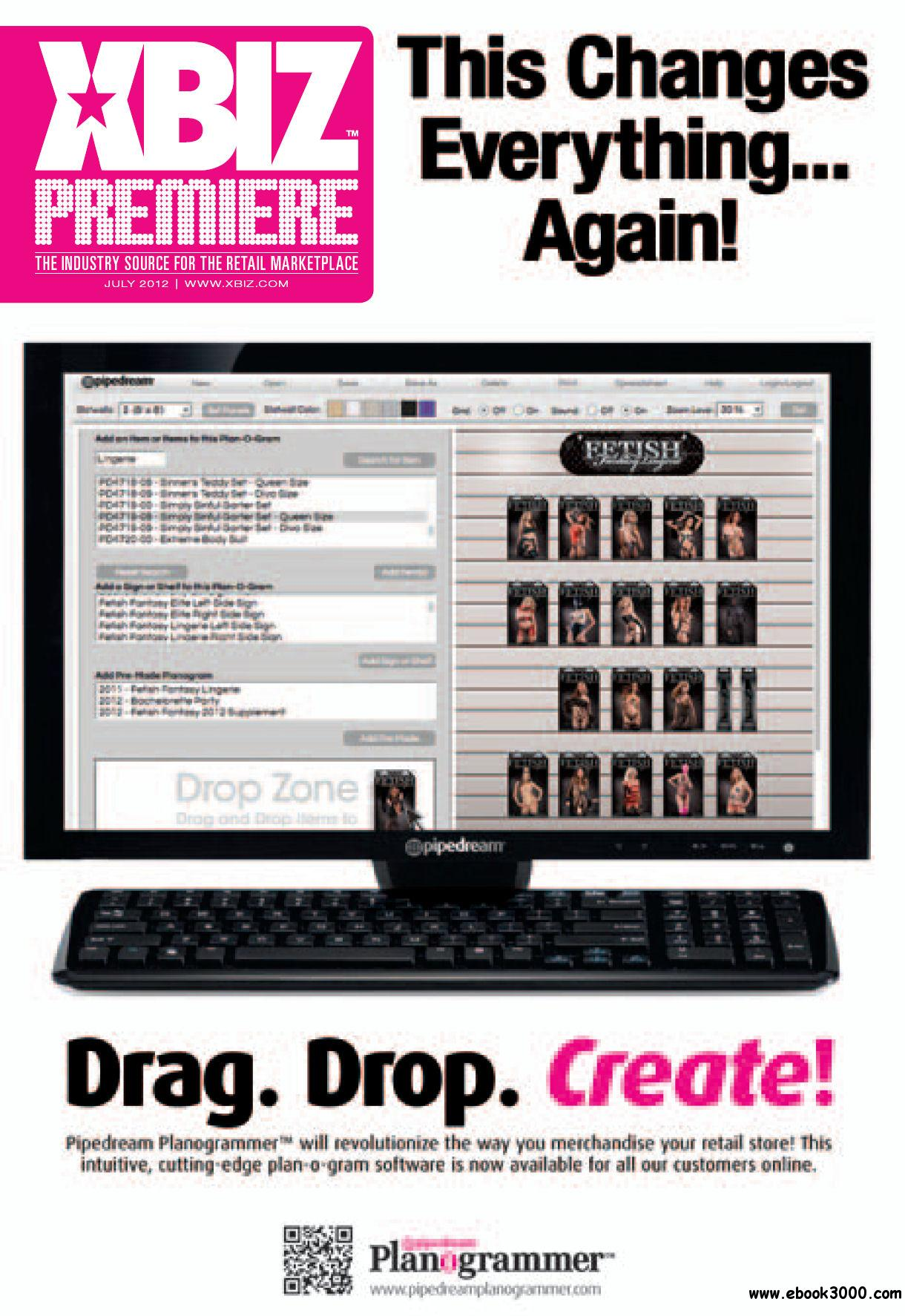 XBIZ Premiere - July 2012 free download
