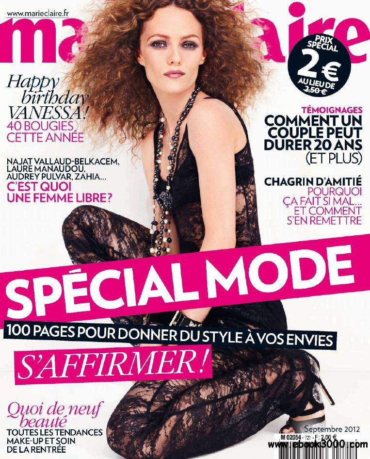 Marie Claire 721 - Septembre 2012 free download