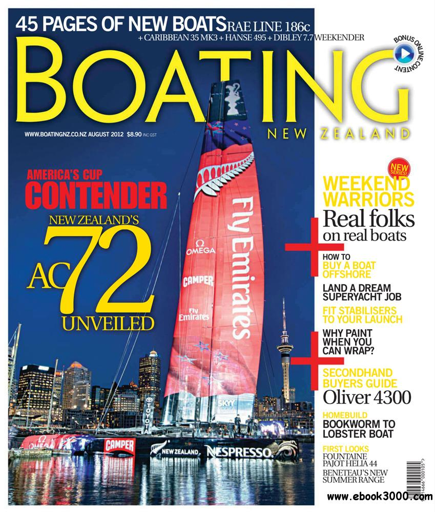 Boating NZ August 2012 (New Zealand) free download