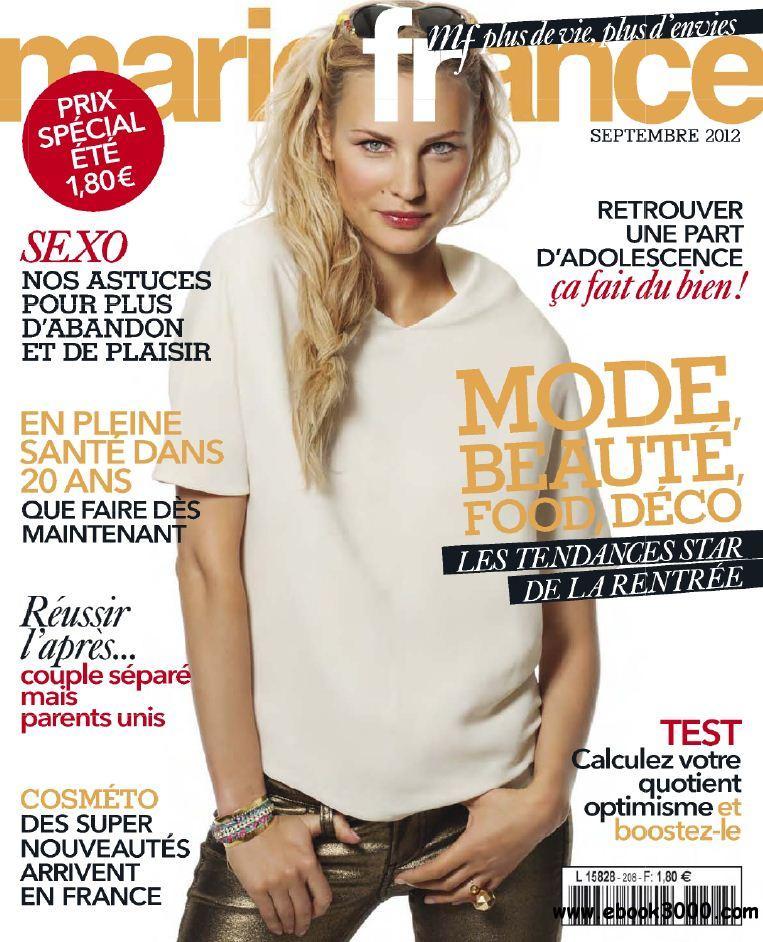 Marie France 208 - Septembre 2012 free download