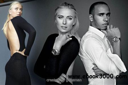 Maria Sharapova & Lewis Hamilton - Tag Heuer Photoshoot 2012 free download