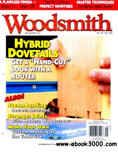 Woodsmith Magazine #202 (August - September 2012) free download