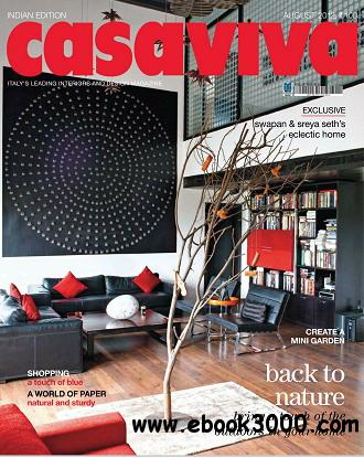 Casaviva India Edition Magazine August 2012 free download