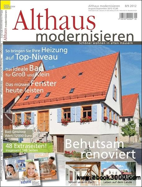 Althaus Modernisieren - August/September 2012 free download