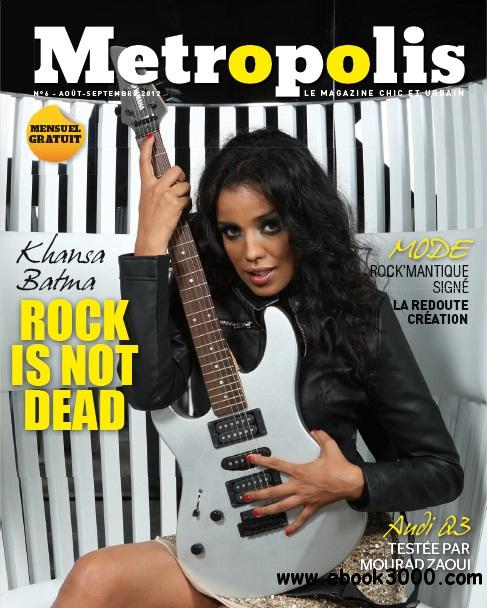 Metropolis - Aout/Septembre 2012 free download