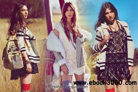 Jessica Miller - Free People August 2012 catalog free download
