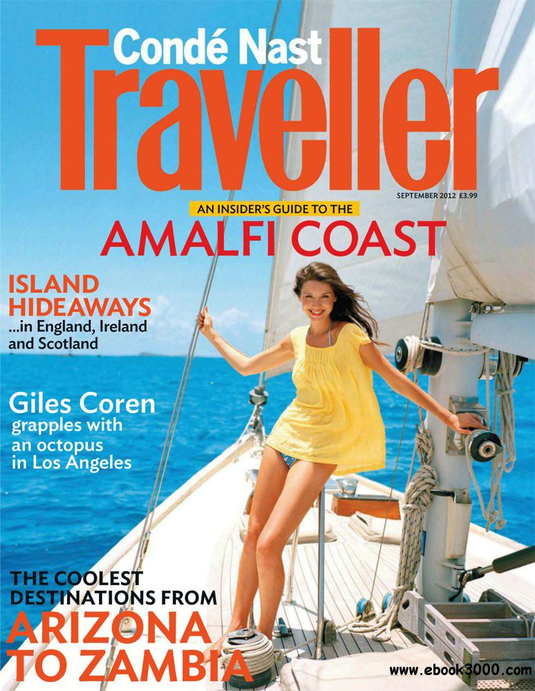 Conde Nast Traveller September 2012 (UK) free download