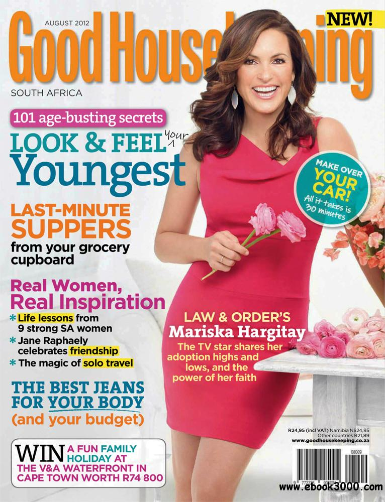 Good Housekeeping August 2012 (South Africa) free download