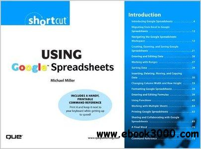 Using Google Spreadsheets by Michael Miller free download