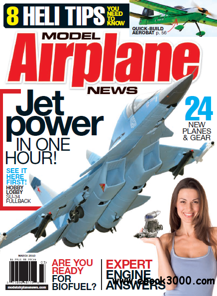 Model Airplane News - March 2010 free download