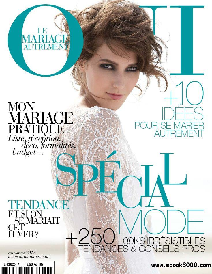 Oui Magazine 71 - Automne 2012 free download