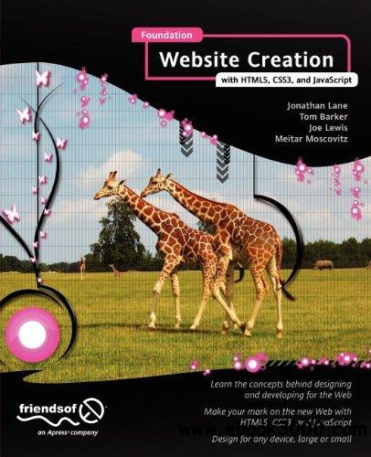 Foundation Website Creation with HTML5, CSS3, and javascript free download