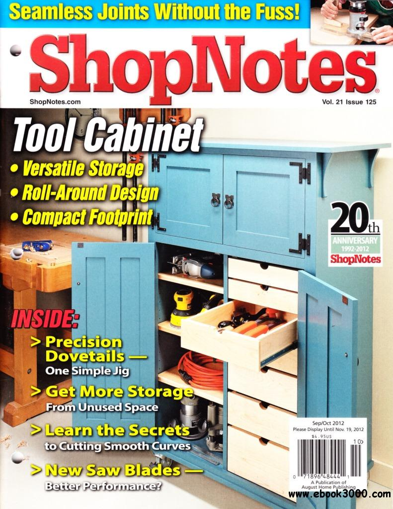 ShopNotes Issue #125 free download
