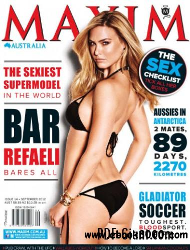 Maxim Australia - September 2012 free download