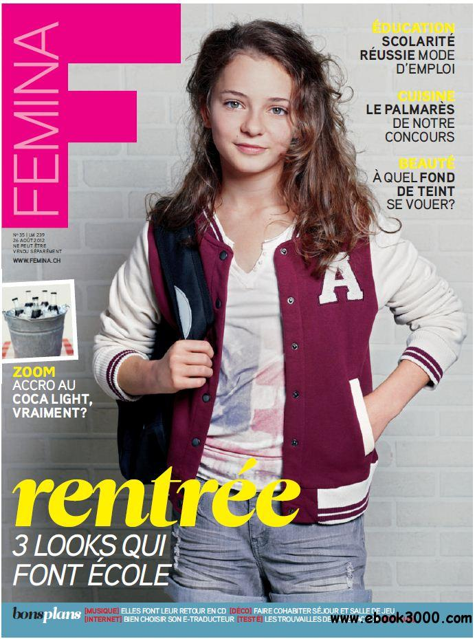 Femina 35 - 26 Aout au 1er Septembre 2012 free download