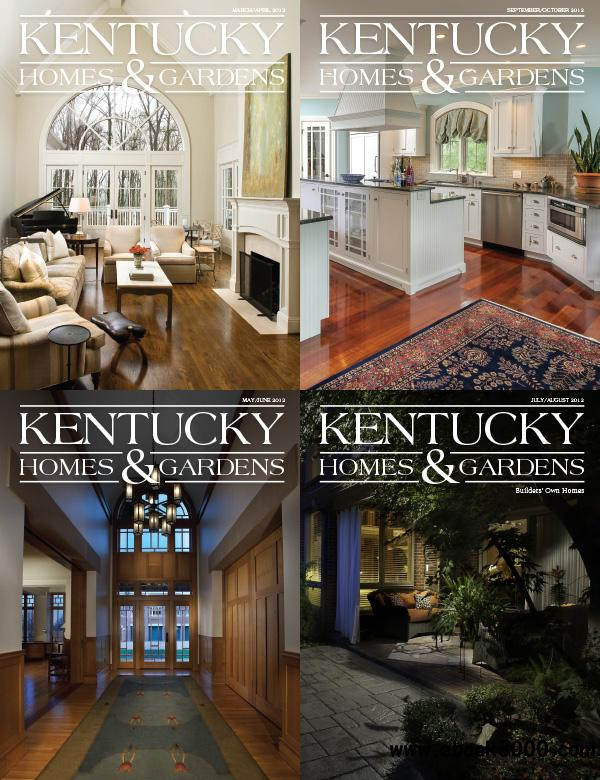 Kentucky Homes and Gardens March-October 2012 free download