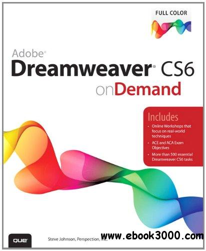 Adobe Dreamweaver CS6 on Demand (2nd Edition) free download