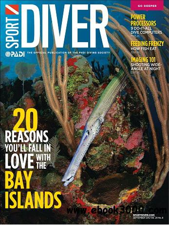 Sport Diver Magazine September 2012 free download