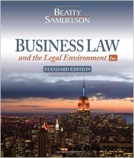 Business Law and the Legal Environment, Standard Edition by Jeffrey F. Beatty free download