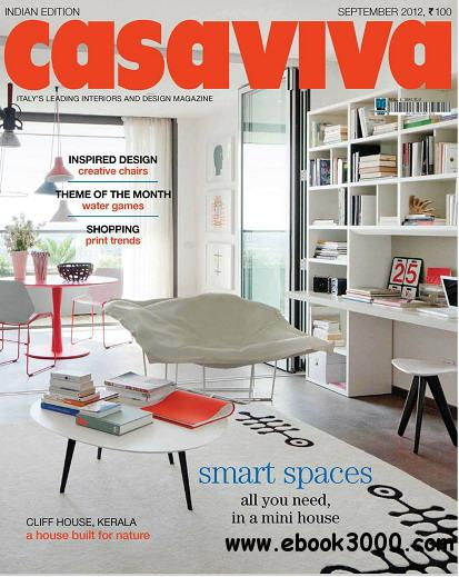 Casaviva India Edition Magazine September 2012 free download