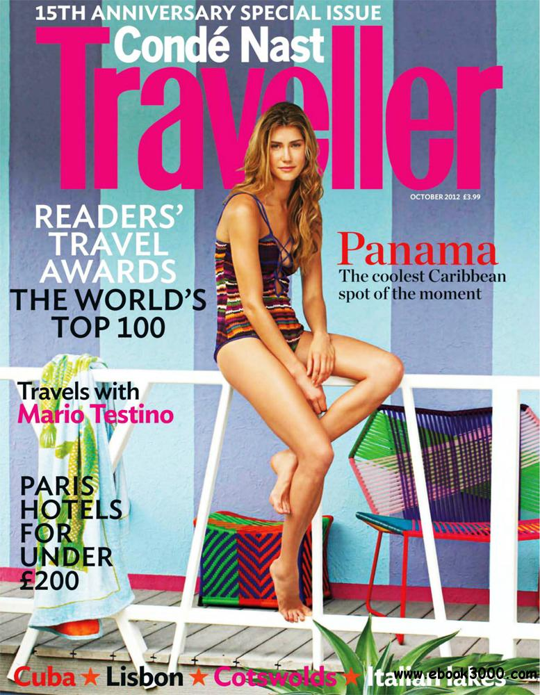 Conde Nast Traveller October 2012 (UK) free download