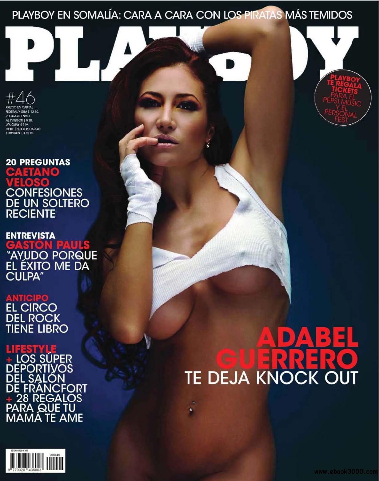 Playboy Argentina - October 2009 free download