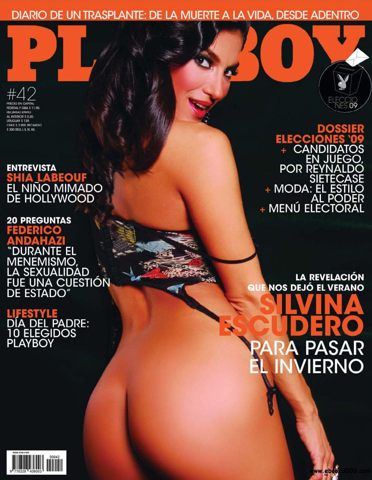 Playboy Argentina - June 2009 free download