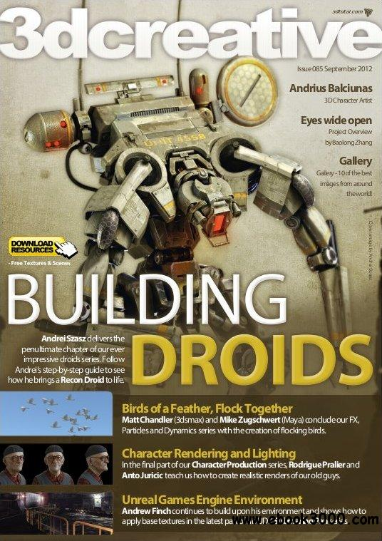 3Dcreative Issue 85 - September 2012 free download