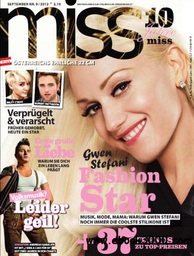 Miss Magazin September No 09 2012 free download