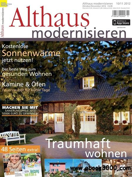Althaus Modernisieren - Oktober/November 2012 free download