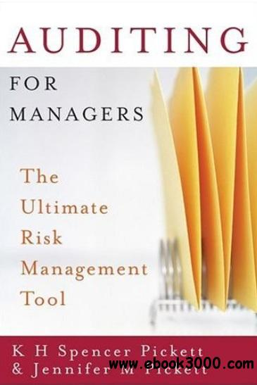 Auditing for Managers: The Ultimate Risk Management Tool free download